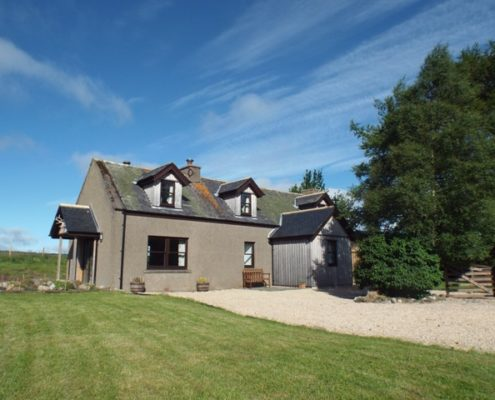 Newfield Cottage in the sun